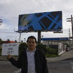 Ricardo and James Welling&#039;s artwork... La Brea, south of the 10 Freeway