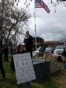 Minute Men Rally, Santa Clarita