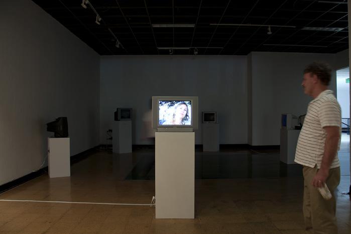 Documentation of thesis installation exhibit