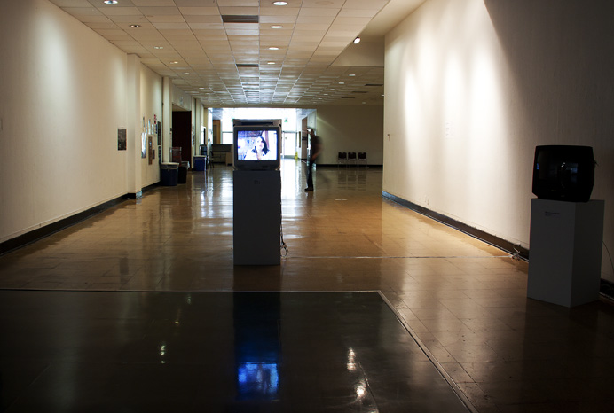 Being With video installation